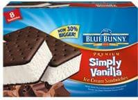 Simply Vanilla Sandwich