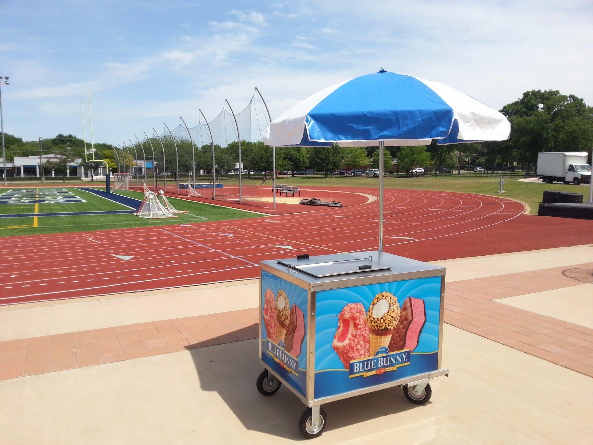 Dallas Ice Cream Cart